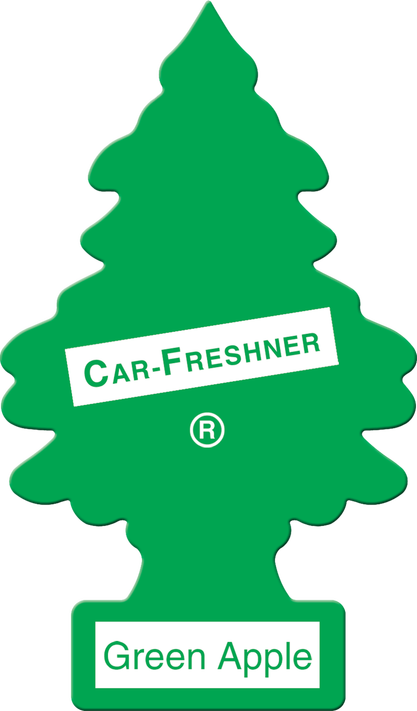 Little Tree Air Freshener Green Apple