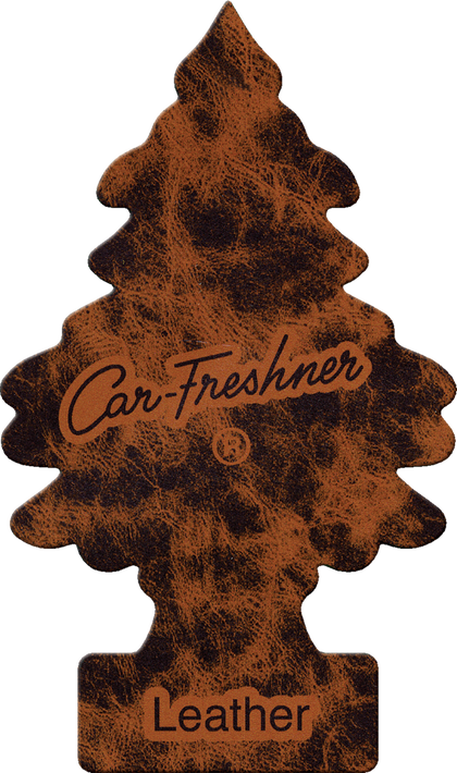 Little Tree Air Freshener Leather