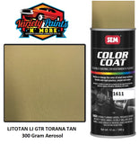 LJTOTAN Nutmeg Suitable for LJ GTR Torana  Colourcoat Vinyl Aerosol 300 Grams