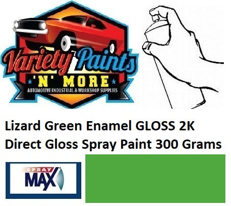 Lizard Green Enamel GLOSS 2K Direct Gloss Spray Paint 300 Grams