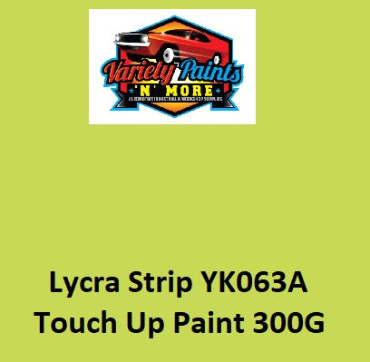 Variety Paints Lycra Strip YK063A Powdercoat Colour Spray Touch Up 300 Gram