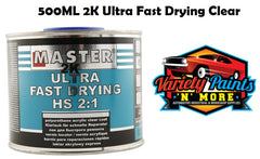 Master Ultra Fast Drying Clear Coat 500ML 2:1