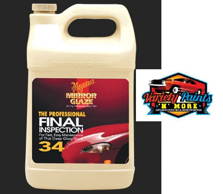 Meguiars Mirror Glaze Final Inspection (34) 3.78 Litre
