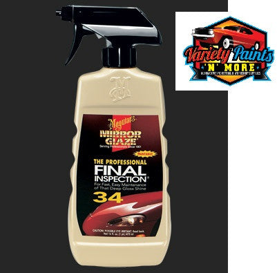 Meguiars Mirror Glaze Final Inspection (34) 473ml