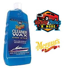 Meguiars One Step Boat Cleaner /Wax