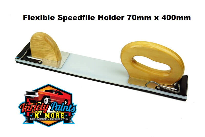 Flexible Velcro 70mm x 400mm Speedfile Holder