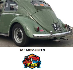 616 MOSS Green 1971 Volkswagon Acrylic Touch Up Paint 300 Grams