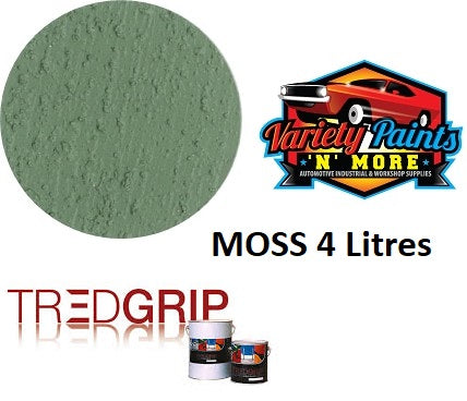 Tredgrip MOSS Water Based Non Slip Coating  4 Litres
