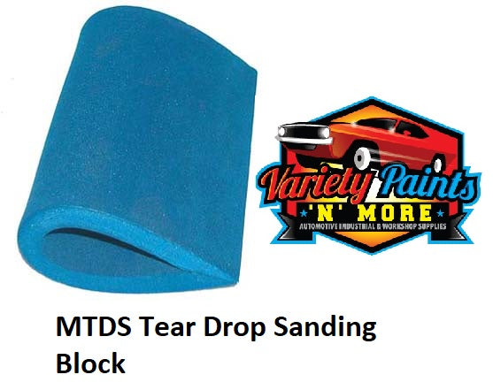 Tear Drop Sanding Block 150mm