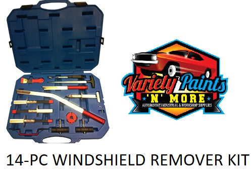 Velocity Windshield Remover Kit: 14 Piece