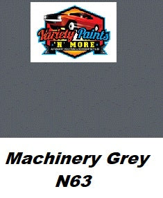 Variety Paints Machinery Grey N63 Industrial Enamel 4 Litres