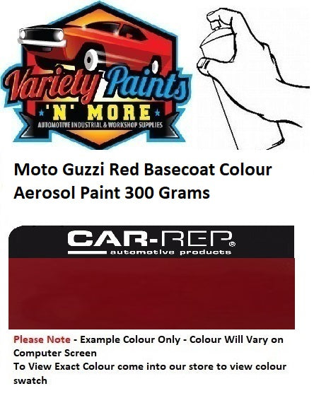 Moto Guzzi Red Basecoat Colour Aerosol Paint 300 Grams