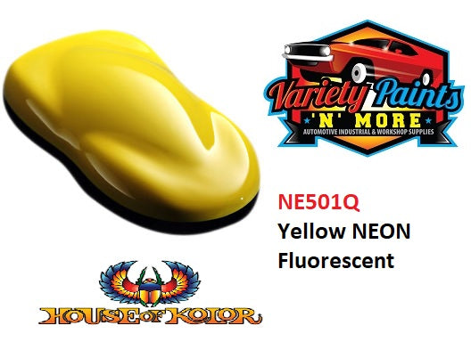 Yellow Neon Shimrin® House of Kolor  (Fluorescent)