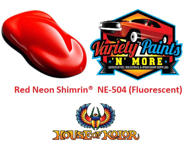 Red Neon Shimrin  House of Kolor NE-504 (Fluorescent)