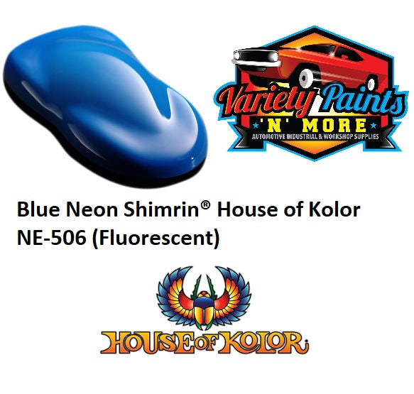 Blue Neon Shimrin  House of Kolor NE-506 (Fluorescent)