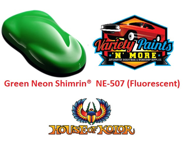 Green Neon Shimrin  House of Kolor NE-507 (Fluorescent)