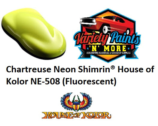 Chartreuse Neon Shimrin  House of Kolor NE-508 (Fluorescent)