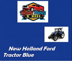 New Holland Ford Tractor Blue 4 Litre Quick Dry Enamel Paint