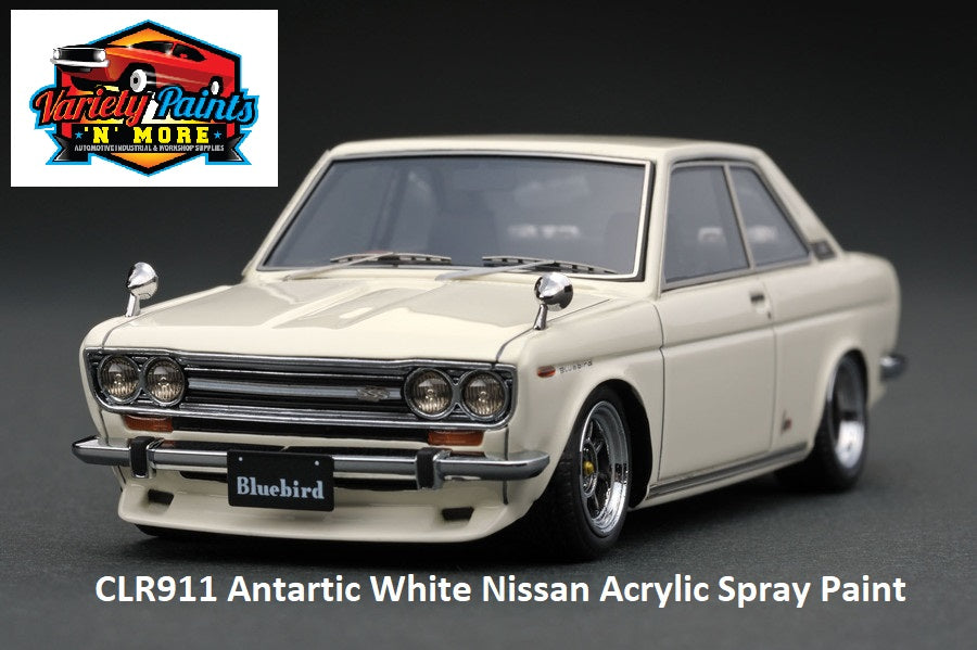 CLR911 Antartic White Nissan Acrylic Spray Paint 300g
