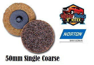 Norton Brown 50mm Beartex Quick Change Disc (Roloc) Coarse