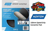 Norton Speed Grip Convertor Pad 150mm