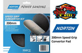Norton Speed Grip Convertor Pad 200mm Variety Paints N More