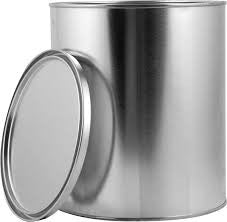 Empty 1 Litre Tin & Lid OHT500-117 117 Units