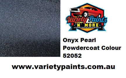 Black Onyx Metallic 52052 Powdercoat Spray Paint 300g