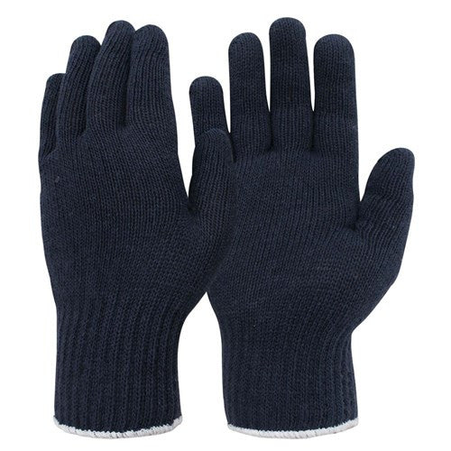 Frontier Glove knitted - Polycotton Mens Navy