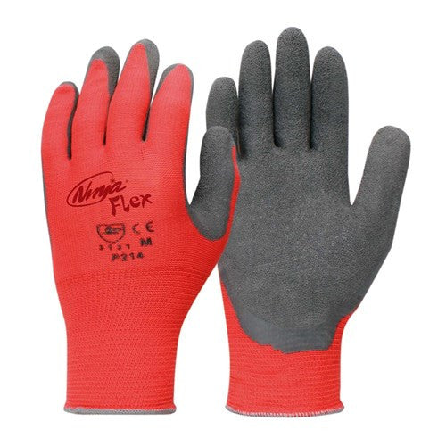 Ninja Flex 2XL Crinkle Cut latex Safety Glove