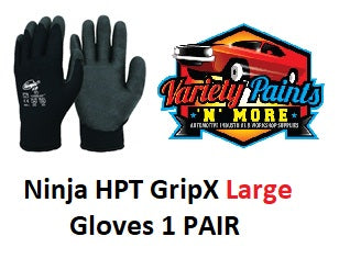 Ninja HPT GripX Large Foam PVC HPT Coat Safety Gloves