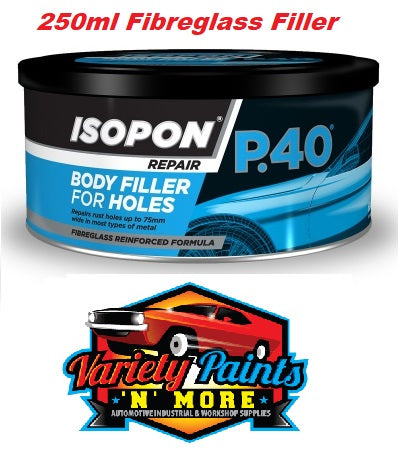 Isopon P40 Fibre-Reinforced Filler 250ml