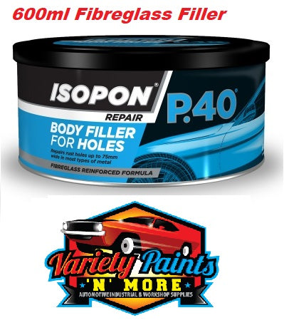 Isopon P40 Fibre-Reinforced Filler 600ml