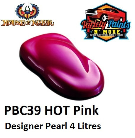 House of Kolor PBC39 HOT Pink Designer Pearl 4 litres