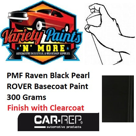 PMF Raven Black Pearl ROVER BASECOAT Paint 300 Grams
