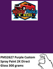 PMS2627 Pantone Purple Custom Spray Paint 2K Direct Gloss 300 grams