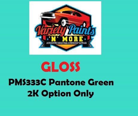 PMS333 Pantone Green GLOSS Custom Spray Paint 2K Only