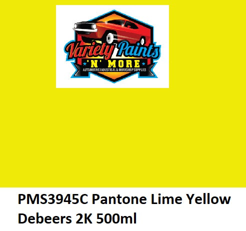 PMS3945C Pantone Lime Yellow Debeers 2K 500ml