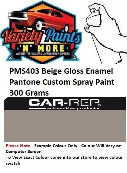 PMS403 Beige Gloss Enamel Pantone Custom Spray Paint 300 Grams