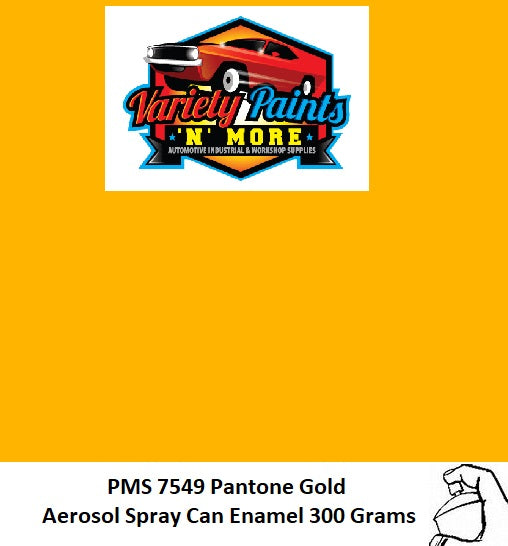 PMS 7549 Pantone Gold TB300 Enamel Custom Spray Paint 300 Grams