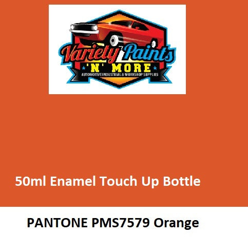 PMS 7579 Pantone Orange (Full of Life Orange) 50ML Touch Up Bottle