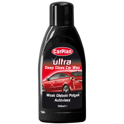 CarPlan Ultra Wax Polish 500ml