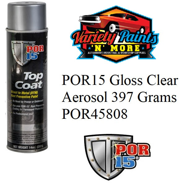POR45718 POR15 Topcoat Clear Aerosol 397 Grams