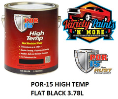 POR-15 HIGH TEMP FLAT BLACK 3.78L