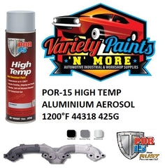 POR-15 HIGH TEMP ALUMINIUM AEROSOL 1200°F 44318