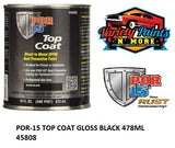 POR-15 TOP COAT CHASSIS BLACK 473ML