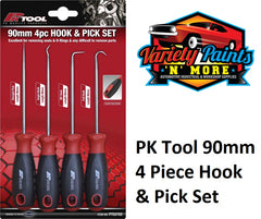 PK Tool 4pc HOOK & PICK SET 190mm