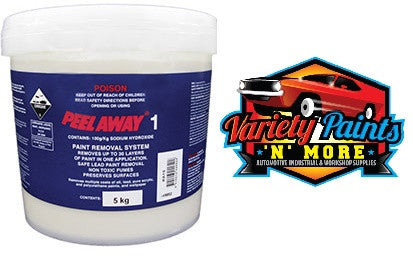 Peel Away 1 Paint Removal System Up To 30 Layers 5 kg tub