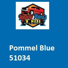 51034 Pommel Blue Powdercoat Paint Enamel AEROSOL 300 Grams