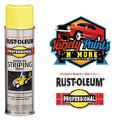 Rustoleum Yellow Inverted Linemarking Striping Paint